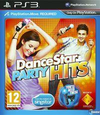 Portada oficial de DanceStar Party Hits para PS3