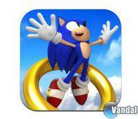 Portada oficial de Sonic Jump para iPhone