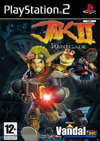 Portada oficial de Jak 2: Renegade para PS2