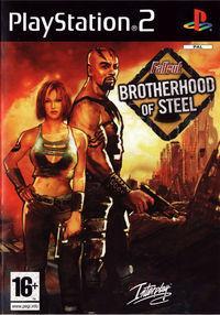 Portada oficial de Fallout: Brotherhood of Steel para PS2