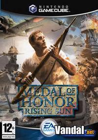 Portada oficial de Medal of Honor: Rising Sun para GameCube