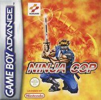 Portada oficial de Ninja Cop para Game Boy Advance