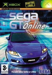 Portada oficial de Sega GT Online para Xbox