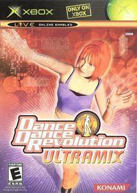 Portada oficial de Dance Dance Revolution Xbox para Xbox