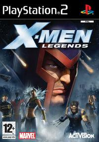 Portada oficial de X-Men: Legends para PS2