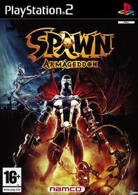 Portada oficial de Spawn: Armageddon para PS2