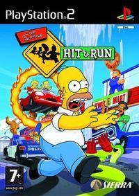 Portada oficial de The Simpsons Hit & Run para PS2