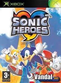Portada oficial de Sonic Heroes para Xbox