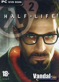 Portada oficial de Half-Life 2 para PC