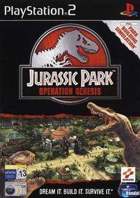 Portada oficial de Jurassic Park: Operation Genesis para PS2