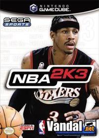 Portada oficial de NBA 2K3 para GameCube