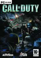 Portada oficial de de Call of Duty para PC