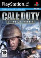 Portada oficial de Call of Duty: Finest Hour para PS2