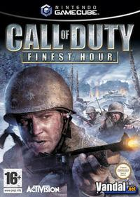Portada oficial de Call of Duty: Finest Hour para GameCube