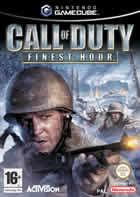 Portada oficial de de Call of Duty: Finest Hour para GameCube