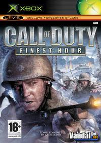 Portada oficial de Call of Duty: Finest Hour para Xbox