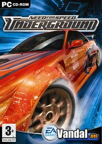 Portada oficial de Need for Speed Underground para PC