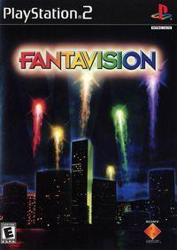 Portada oficial de Fantavision para PS2
