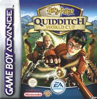 Portada oficial de Harry Potter: Quidditch World Cup para Game Boy Advance