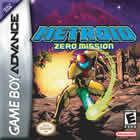 Portada oficial de Metroid: Zero Mission para Game Boy Advance