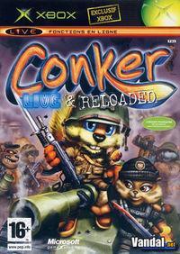 Portada oficial de Conker: Live and Reloaded para Xbox