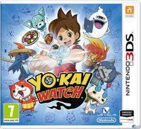 Portada oficial de Yo-Kai Watch para Nintendo 3DS