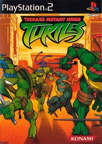 Portada oficial de Teenage Mutant Ninja Turtles para PS2