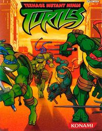 Portada oficial de Teenage Mutant Ninja Turtles para GameCube