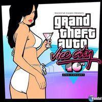 Portada oficial de Grand Theft Auto: Vice City para iPhone