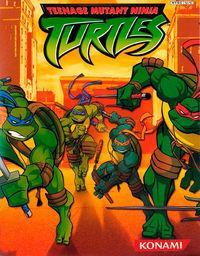 Portada oficial de Teenage Mutant Ninja Turtles para Xbox