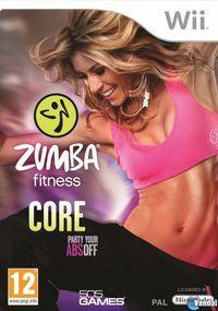 Portada oficial de Zumba Fitness Core para Wii