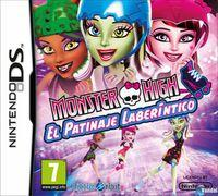Portada oficial de Monster High: El Patinaje Laberíntico para NDS