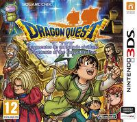 Portada oficial de Dragon Quest VII: Fragmentos de un mundo olvidado para Nintendo 3DS