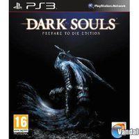Portada oficial de Dark Souls: Prepare to Die Edition para PS3