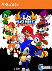 Portada oficial de Sonic the Fighters XBLA para Xbox 360