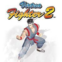 Portada oficial de Virtua Fighter 2 PSN para PS3
