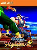 Portada oficial de Virtua Fighter 2 XBLA para Xbox 360