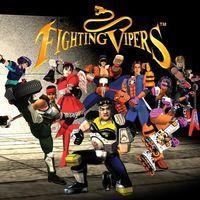 Portada oficial de Fighting Vipers PSN para PS3