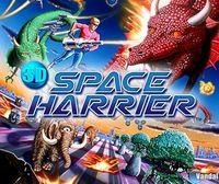 Portada oficial de 3D Space Harrier eShop para Nintendo 3DS