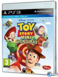 Portada oficial de Toy Story: Mini Aventuras para PS3
