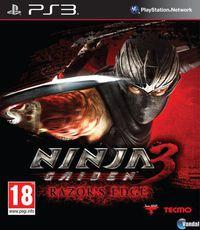 Portada oficial de Ninja Gaiden 3: Razor's Edge para PS3