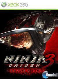Portada oficial de Ninja Gaiden 3: Razor's Edge para Xbox 360