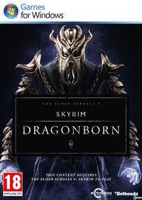 Portada oficial de The Elder Scrolls V: Skyrim - Dragonborn para PC