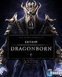 Portada oficial de The Elder Scrolls V: Skyrim - Dragonborn para PS3