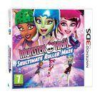 Portada oficial de Monster High: El Patinaje Laberíntico para Nintendo 3DS