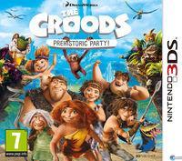 Portada oficial de Los Croods: Fiesta Prehistórica para Nintendo 3DS