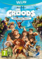 Portada oficial de Los Croods: Fiesta Prehist�rica para Wii U