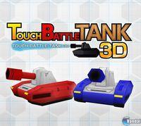 Portada oficial de Touch Battle Tank 3D eShop para Nintendo 3DS