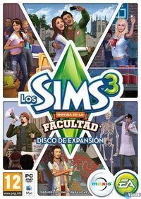 Portada oficial de Los Sims 3 Movida en la Facultad para PC