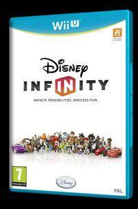 Portada oficial de Disney Infinity para Wii U